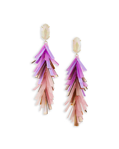 Justyne Tassel Statement Earrings