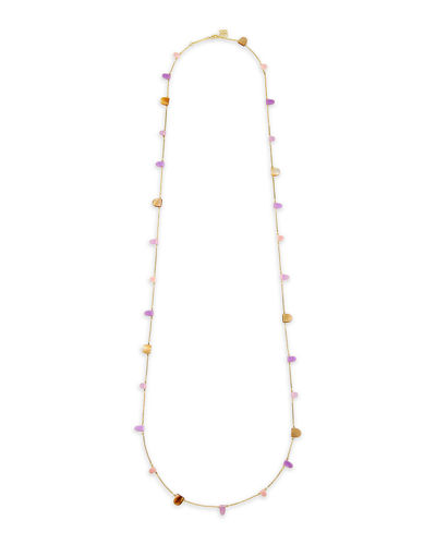 Leola Long Station Necklace