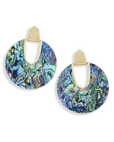 Diane Pearlescent Statement Earrings