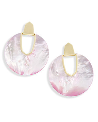 Kendra Scott Diane Pearlescent Statement Earrings