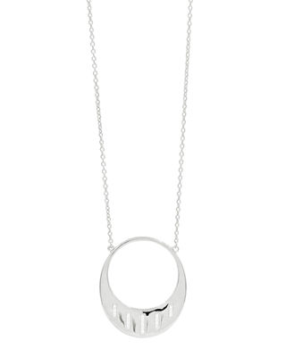 Image 1 of 2: Radiance Open Cubic Zirconia Pendant Necklace