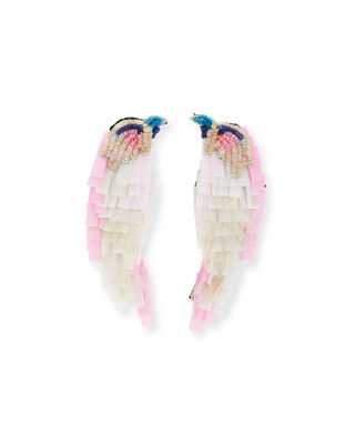 Mignonne Gavigan Beaded Bird Statement Earrings