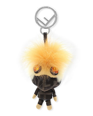 Fendi Space Monkey Mink and Fox Fur Mohawk