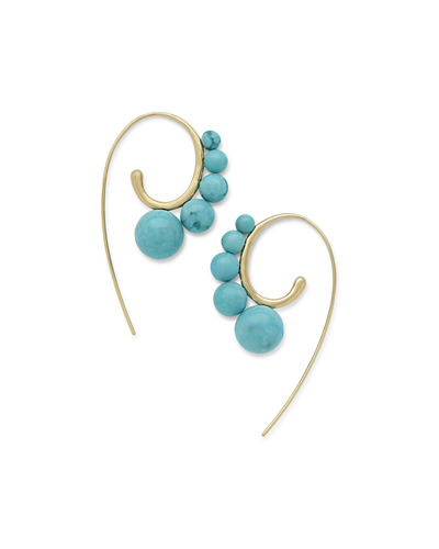 18k Nova Wire Earrings