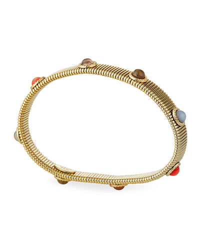 Gas Bijoux Multi-Stone Stretch Bracelet