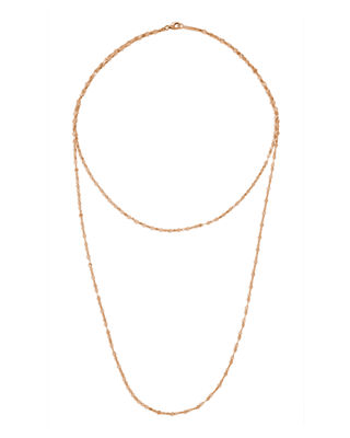 LANA 14k Double Blake Layered Chain Necklace