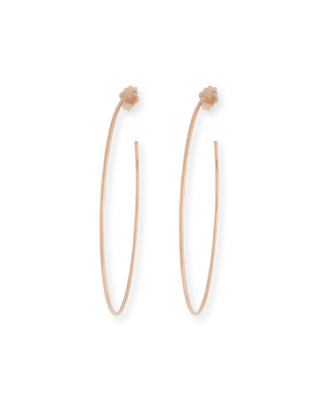 Lana 14k Wire Hoop Earrings