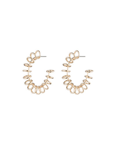 Sargent Hoop Earrings