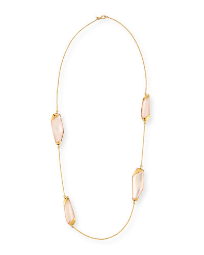 Large Lucite® Station Necklace, 36