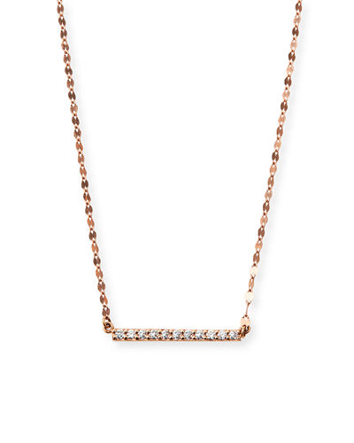 Mirage Blake Diamond Bar Necklace