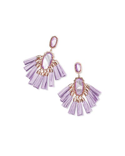 Kristen Fringe Dangle Earrings