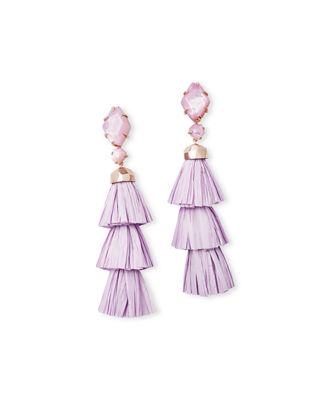 Kendra Scott Denise Tassel-Drop Statement Earrings