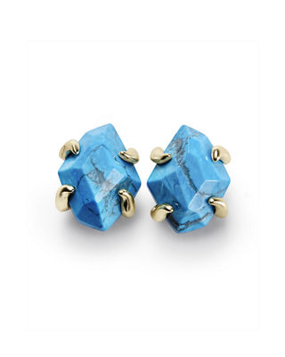 Inaiyah Stone Stud Earrings