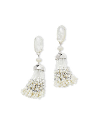 Dove Tassel Earrings