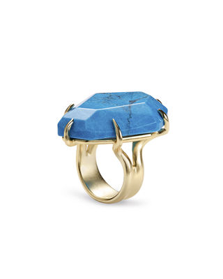 Image 1 of 2: Megan Prong-Set Stone Cocktail Ring