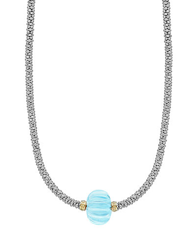 18k Caviar™ Forever One-Melon Bead Rope Necklace