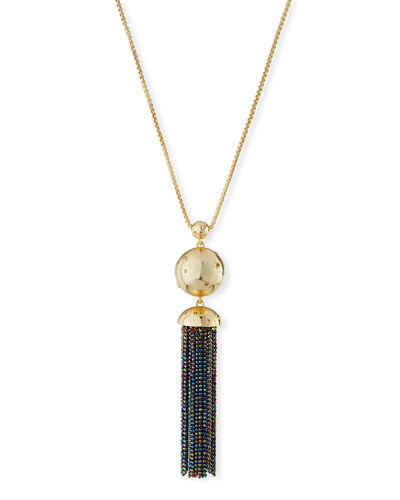 Anthony Long Tassel Necklace
