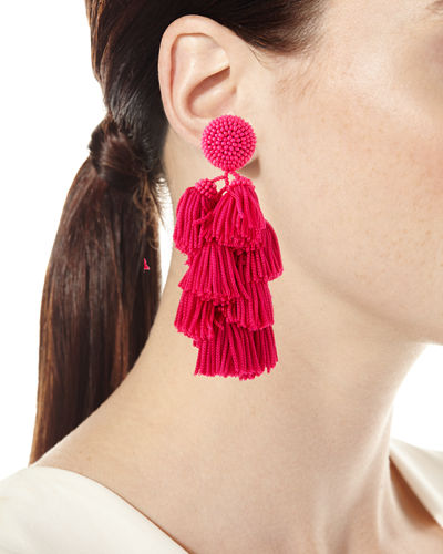 Chacha Tassel Earrings