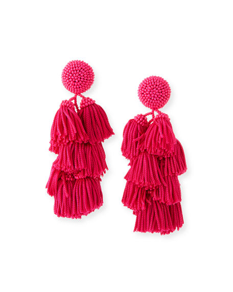 Sachin & Babi CHACHA TASSEL EARRINGS