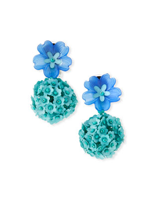Sachin & Babi Fleur Drop Earrings