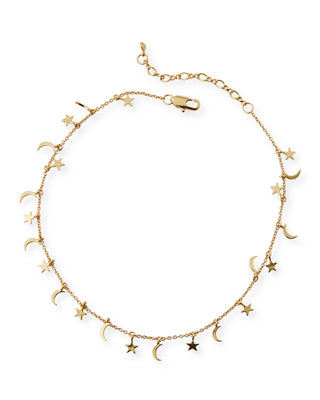 STAR & MOON ANKLET