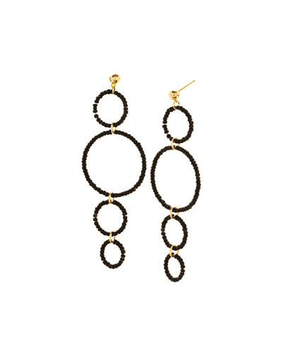 Sayulita Hoop Drop Earrings