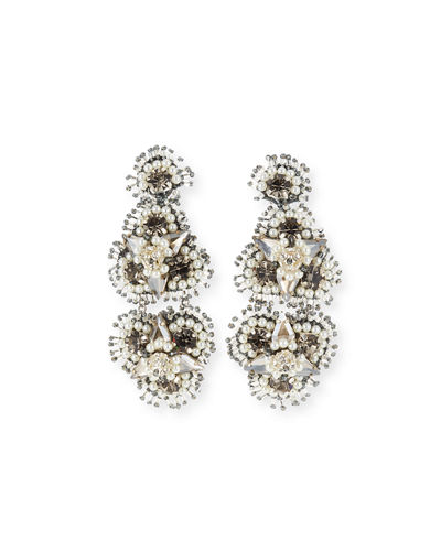 6332ae589e79bb Quick Look. Mignonne Gavigan · Anastasia Crystal Clip-On Earrings