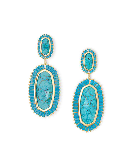 Kendra Scott Kaki Dangle & Drop Earrings