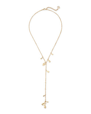 Kendra Scott Quincy Lariat Necklace w/ Cubic Zirconia