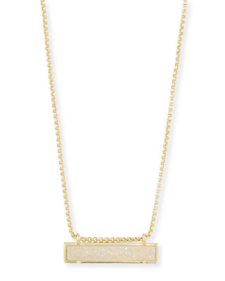 Kendra Scott Leanor Bar Pendant Necklace