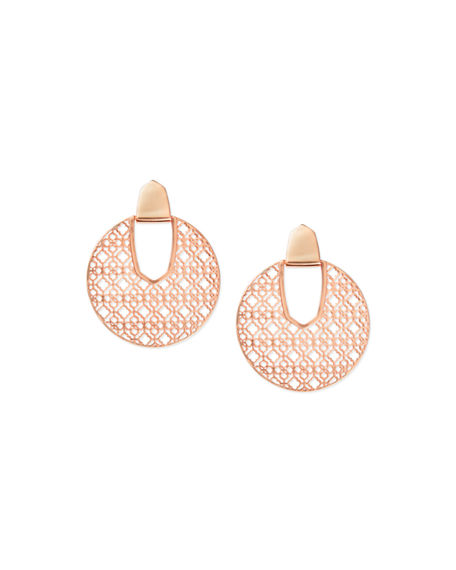 Kendra Scott Diane Door Knocker Earrings w/ Filigree