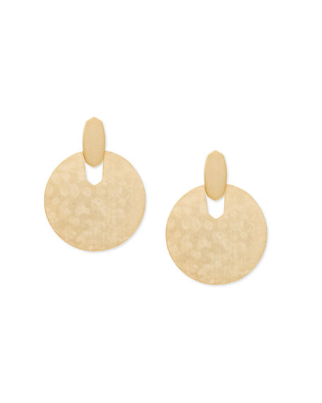 Kendra Scott Didi Door Knocker Post Drop Earrings