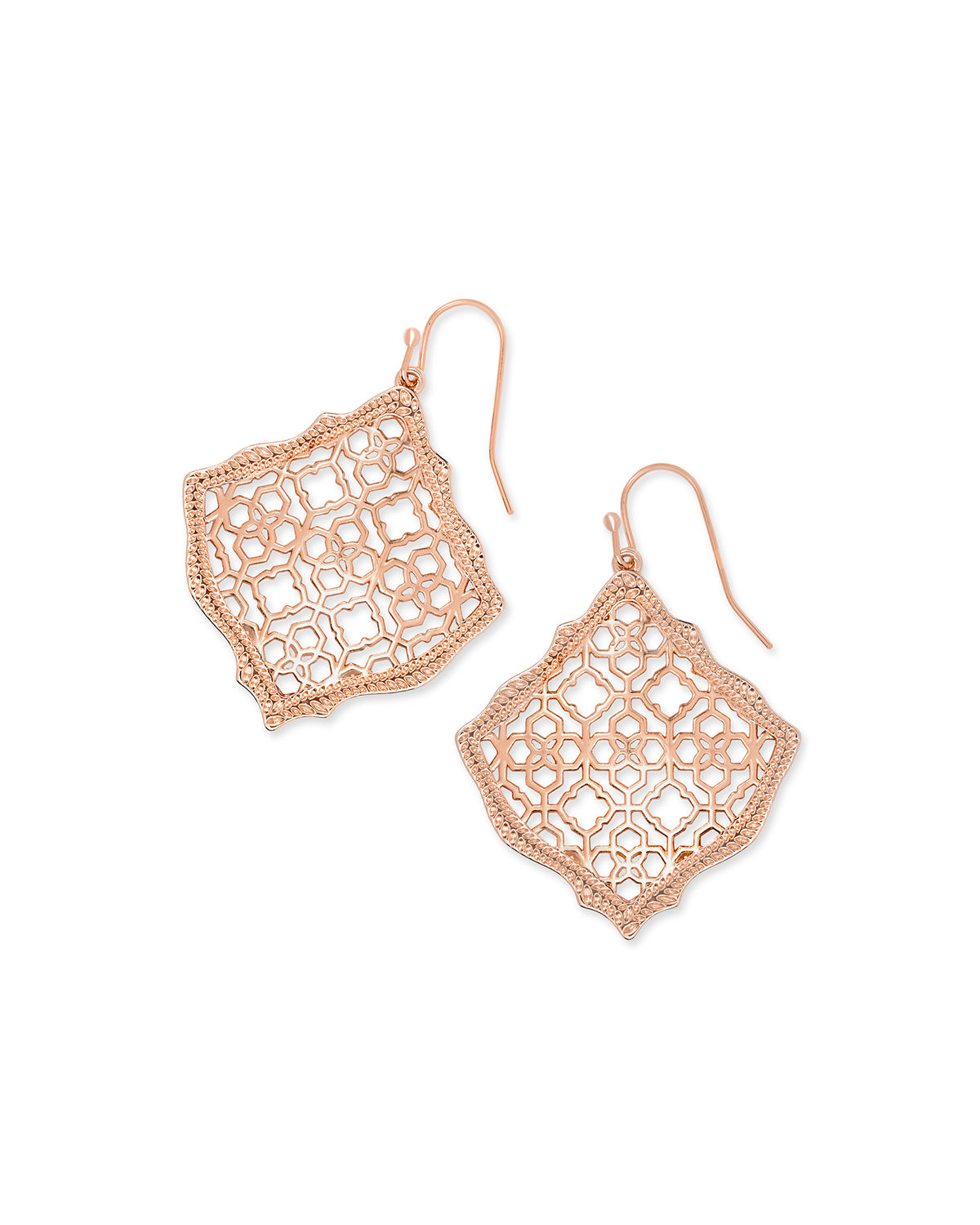 Kirsten Filigree Wire Drop Earrings