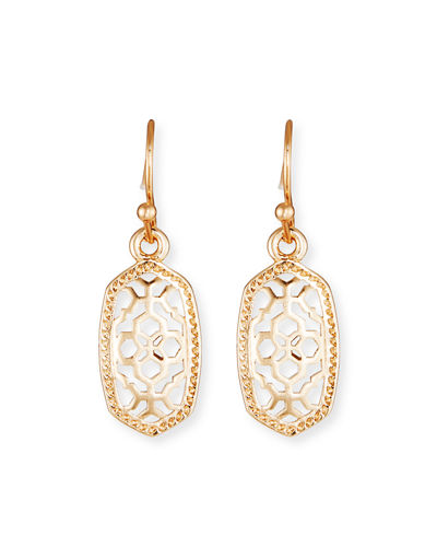 Lee Filigree Drop Earrings