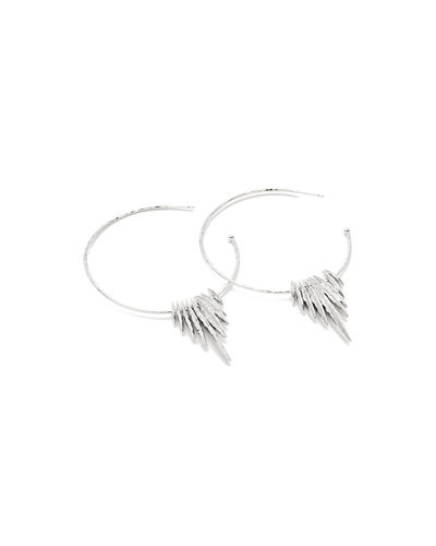 Nora Fan Hoop Earrings