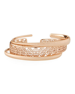 Kendra Scott Tiana Pinch Filigree Stack Bracelets, Set