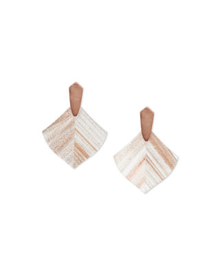 Kendra Scott Astoria Earrings w/ Dusted Glass