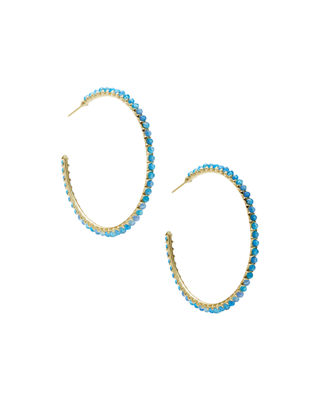 Kendra Scott Birdie Hoop Earrings