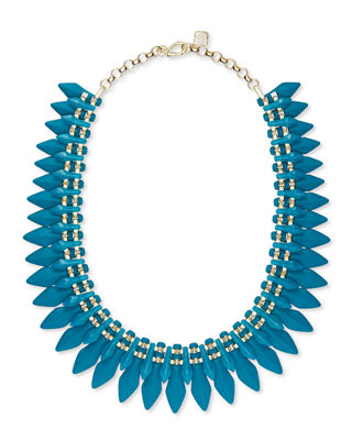 Kendra Scott Lazarus Spiked Statement Necklace