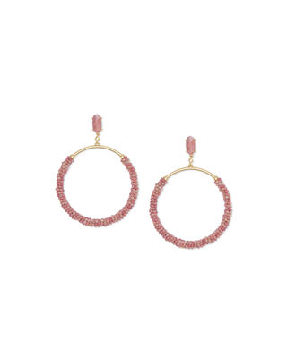 Kendra Scott Russel Hoop Drop Earrings