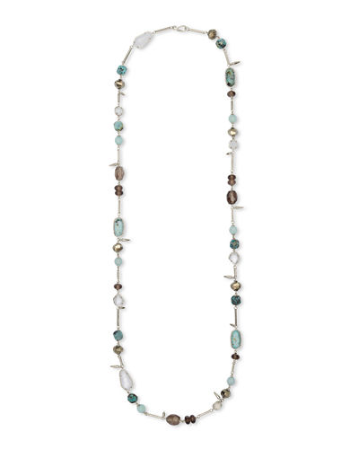 Ruth Necklace w/ Mixed Stones  38