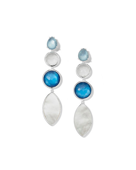Ippolita Wonderland 4-Stone Earrings in Moroccan Dust