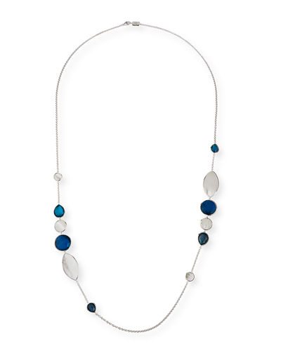 Ippolita Wonderland Mixed-Stone Necklace in Moroccan Dust