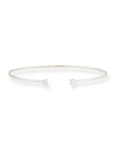 14k Gold Echo Diamond Cuff Bracelet