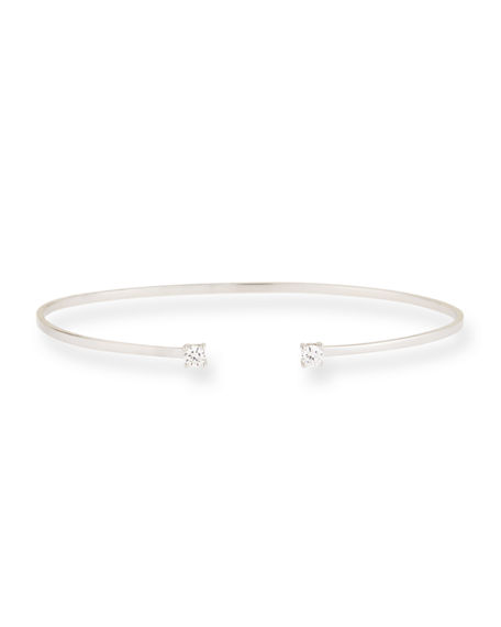 Lana 14k Gold Echo Diamond Cuff Bracelet