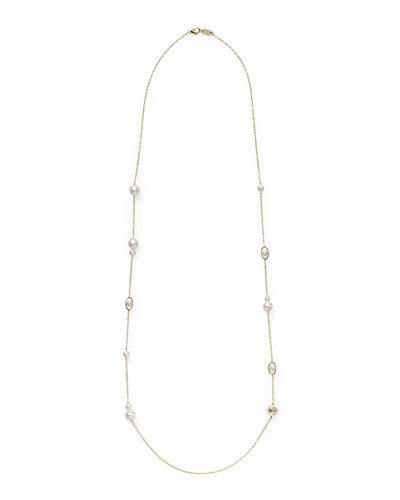 Ippolita 18k Gold Nova 10-Station Necklace, 36""