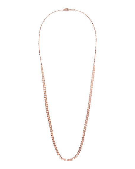 "Lana 14K GOLD NUDE PETITE LONG NECKLACE, 24""L"