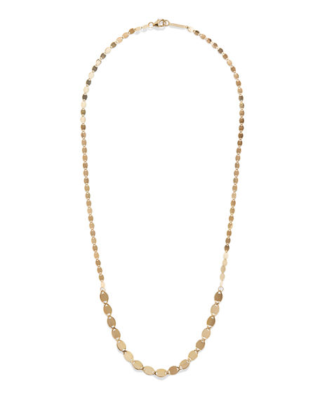 Lana 14K GOLD NUDE MEGA GRADUATING NECKLACE