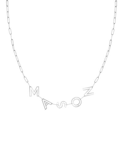 22688716 Quick Look. K Kane · 14k Gold Chain Letter Necklace ...
