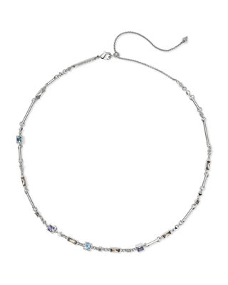Rhett Choker Necklace, Silver